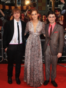 Rupert, Emma and Daniel at the 'Harry Potter and the Half Blood-Prince' premiere, July 2009