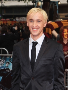 Tom Felton keeps it classy in a suit for the world premiere of 'Harry Potter And The Half Blood Prince' in London on July 7, 2009