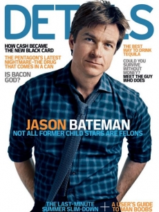 Jason Bateman on the August 2009 cover of Details