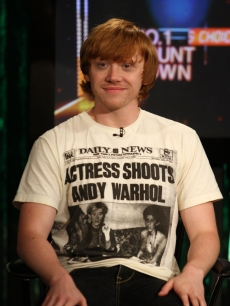 Rupert Grint visits fuse's 'No. 1 Countdown' at fuse Studios in New York City on July 9, 2009