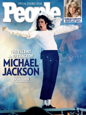 People's Michael Jackson cover, June 2009