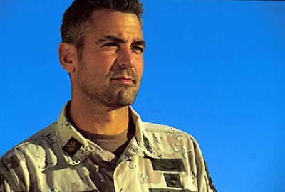 George Clooney in 'Three Kings'