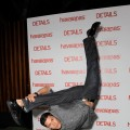 Alex Meraz busts out some moves Alex Meraz at celebration of 'The Flipside' by Havaianas and DETAILS Magazine at MyHouse in Hollywood