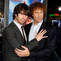 Jon Heder and Will Ferrell arrive at the premiere of 'Blades Of Glory,' Mann's Chinese Theater, March 28, 2007