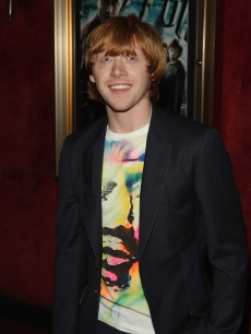 Rupert Grint arrives to the premiere of 'Harry Potter and the Half-Blood Prince' in New York City on July 9, 2009