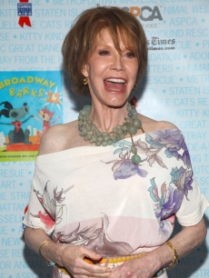 Mary Tyler Moore attends the 11th Annual Broadway Barks event in Shubert Theatre in New York City on July 11, 2009 