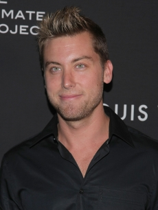 Lance Bass is all smiles at the Louis Vuitton Celebration of The 40th Anniversary Of The Lunar Landing in New York City on July 13, 2009