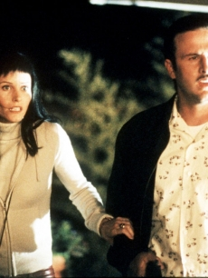 Courteney Cox and David Arquette in Wes Craven's 'Scream 3'