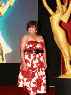 Chandra Wilson announces The 61st Primetime Emmy Awards Nomination's held at the Leonard H. Goldenson Theatre on July 16, 2009 in North Hollywood, California