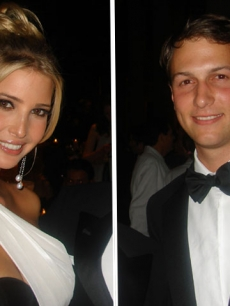 Ivanka Trump and Jared Kushner in 2007