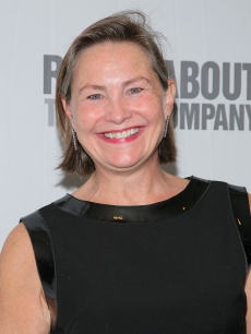 Cherry Jones attends the Roundabout Theatre Company's annual spring gala in New York City on April 6, 2009