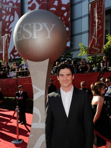 Billy Crudup poses on the red carpet at the 2009 ESPY Awards in LA on July 15, 2009 