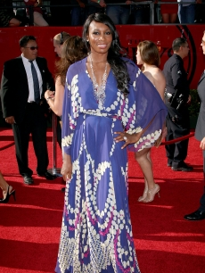  Venus Williams rocks the red carpet at the 2009 ESPY Awards in LA on July 15, 2009 
