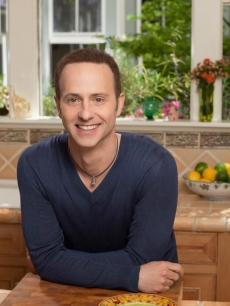 Brian Boitano poses in the kitchen for 'What Would Brian Boitano Make'
