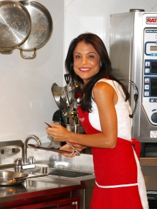 'Real Housewife of New York' star Bethenny Frankel visits Macy's Herald Square in New York City on July 16, 2009