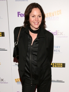 Jorja Fox hits the Artists & Athletes Alliance event at Cafe Milano in Washington, D.C. on Jan. 19, 2009
