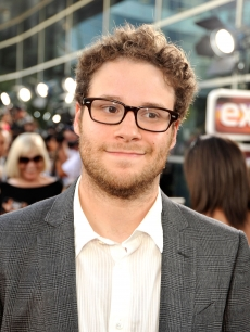 Seth Rogen attends the premiere of 'Funny People' in Hollywood on July 20, 2009