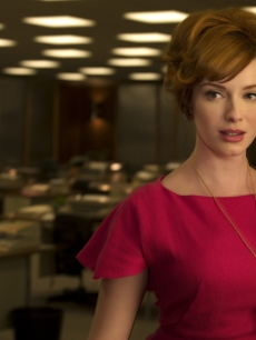 Christina Hendricks plays Office Manager Joan Holloway on 'Mad Men'