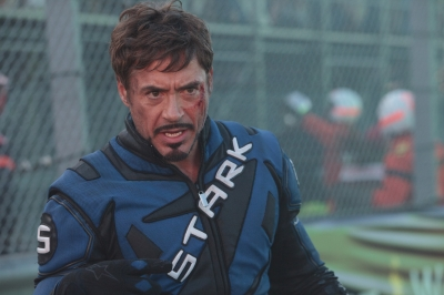 Robert Downey Jr. returns as Tony Stark in 'Iron Man 2'
