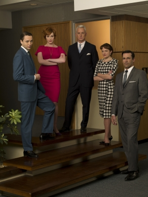 The Sterling cooper gang from 'Mad Men'