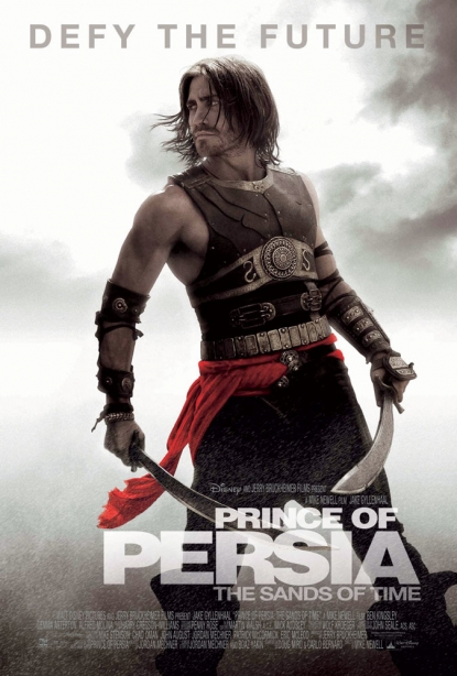 Poster for Jake Gyllenhaal's 'Prince of Persia: The Sands of Time'