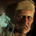Jim Carrey looks eerie for his role as Ebenezer Scrooge in &#8216;A Christmas Carol&#8217;