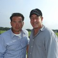 Jon Gosselin and Michael Lohan step out in Southampton on July 25, 2009