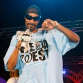 Snoop Dogg looks cool in shades during a performance at the Palms Casino Resort in Las Vegas on July 26, 2009