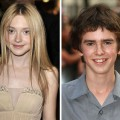 Dakota Fanning and Freddie Highmore