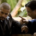 Esai Morales and Andy Garcia in 'The Line'