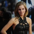 Emma Watson attends the premiere of &#8216;Harry Potter and the Half-Blood Prince&#8217; at Ziegfeld Theatre on July 9, 2009 in New York City