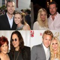 Trista and Ryan, Tori and Dean, Ozzy and Sharon, Spencer and Heidi
