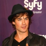 Ian Somerhalder poses for a party picture at the San Diego Comic-Con on July 25, 2009