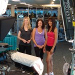 Access' Ryan Patterson, Laura Saltman and Shaun Robinson hit the gym for Access Hollywood's 'Celebrity Shape Up Secrets' special