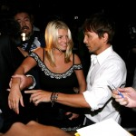 Jessica Simpson and Ken Paves step out at Beso restaurant on August 05, 2009 in Hollywood, California