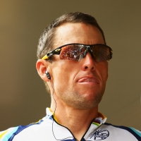 Lance Armstrong competes in the 2009 Tour de France