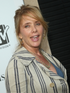 Rosanna Arquette hits the red carpet at the MTV screening of the 'Paris, Not France' documentary in Los Angeles on July 22, 2009