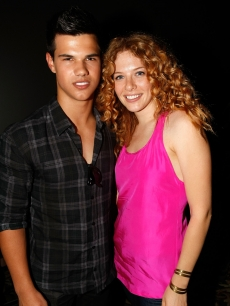 &#8216;New Moon&#8217;s&#8217; Taylor Lautner and Rachelle Lefevre attend The Twilight Fan Experience screening during Comic-Con 2009 in San Diego on July 23, 2009