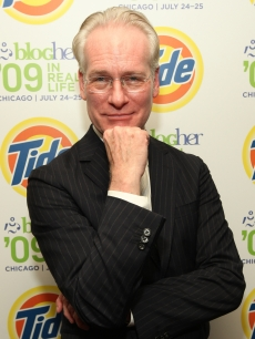 Tim Gunn ponders his next move at BlogHer 2009 at the Sheraton Hotel on in Chicago, Ill., on July 25, 2009