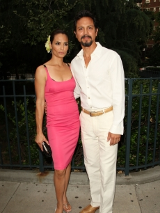 Benjamin Bratt and wife Talisa Soto are all smiles at a screening of 'La Mission' during the New York International Latino Film Festival in New York City on July 28, 2009