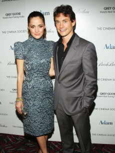 Rose Byrne and Hugh Dancy look glamorous during a screening of 'Adam' at AMC Loews in New York City on July 28, 2009