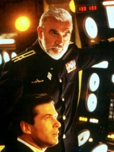 Sean Connery and Alec Baldwin in &#8216;The Hunt For Red October&#8217;