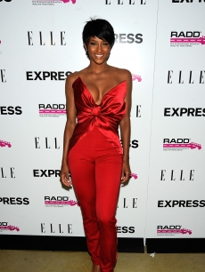 Ciara hits the red carpet at the Express Celebrates TXT L8TR Campaign on July 29, 2009 at Nobu, in West Hollywood