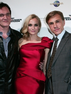 Quentin Tarantino, Diane Kruger and Christoph Waltz hit the red carpet at the Australian premiere of &#8216;Inglourious Basterds&#8217; in Sydney on August 3, 2009 