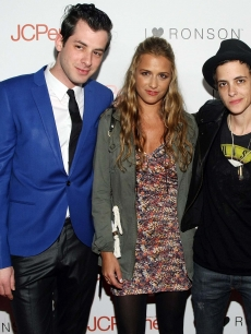 Mark Ronson, Charlotte Ronson and Samantha Ronson attend the &#8216;I Heart Ronson&#8217; event Bar Marmont in Hollywood on April 3, 2009 