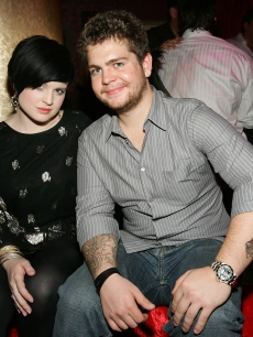 Kelly Osbourne and Jack Osbourne pose at the grand opening of the CatHouse at the Luxor Resort & Casino in Las Vegas on December 30, 2007
