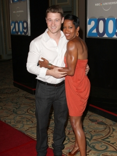 'Southland' stars Ben McKenzie and Regina King arrive at NBC Universal's all-star press tour party in Pasadena, Calif., on August 5, 2009