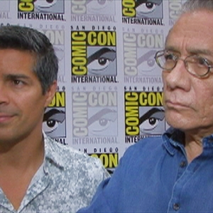 Comic-Con 2009: Esai Morales & Edward James Olmos Talk 'Caprica' & 'The Plan'