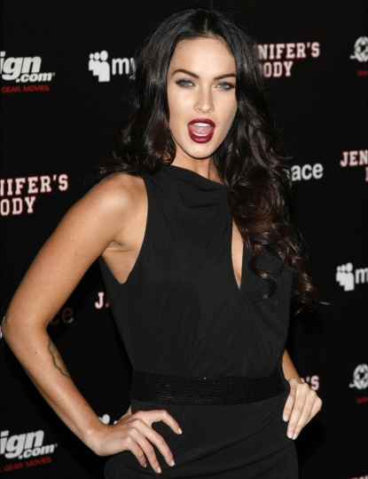 Megan Fox pops a pose at the &#8216;Jennifer&#8217;s Body&#8217; Comic-Con Party at Manchester Grand Hyatt on July 23, 2009