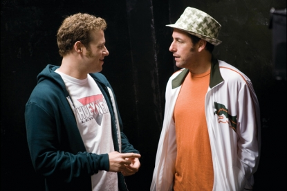 "Seth Rogen and Adam Sandler in ""Funny People"""